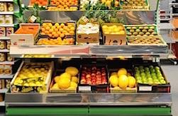 Rsa gondoles et pr sentoirs fruits l gumes et jardinerie - Presentoir fruits et legumes ...